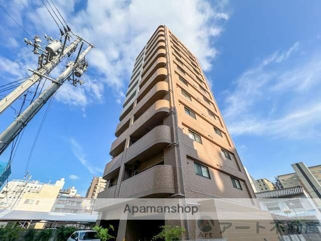 愛媛県松山市、大街道駅徒歩5分の築3年 12階建の賃貸マンション