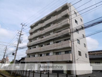 愛媛県松山市、北久米駅徒歩10分の築28年 6階建の賃貸マンション