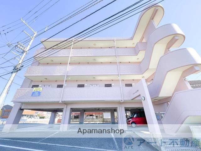 愛媛県松山市、平井駅徒歩4分の築23年 4階建の賃貸マンション