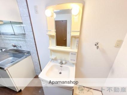ブルーミングローズ[1K/26.77m2]の洗面所