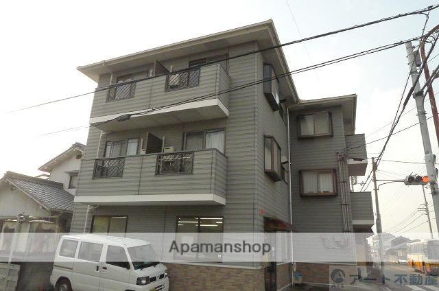 愛媛県松山市、平井駅徒歩5分の築24年 3階建の賃貸マンション
