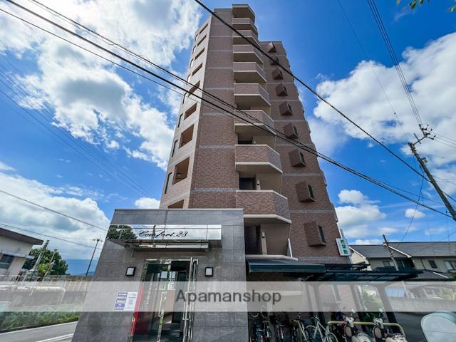 愛媛県東温市、梅本駅徒歩12分の築12年 10階建の賃貸マンション