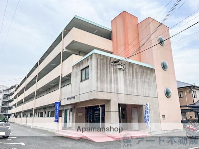 愛媛県松山市、石手川公園駅徒歩12分の築38年 4階建の賃貸マンション