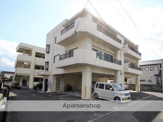 愛媛県松山市、市坪駅徒歩15分の築30年 3階建の賃貸マンション