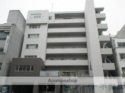 愛媛県松山市、松山市駅徒歩4分の築8年 7階建の賃貸マンション