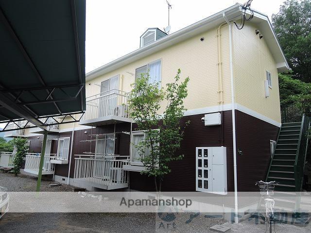 愛媛県東温市の築20年 2階建の賃貸アパート