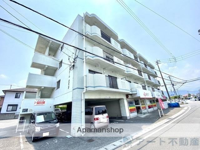 愛媛県東温市、梅本駅徒歩12分の築21年 4階建の賃貸マンション