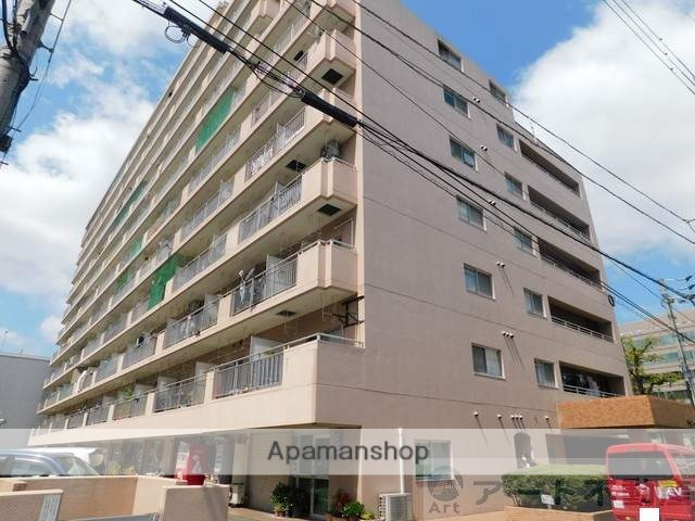 愛媛県松山市の築26年 11階建の賃貸マンション