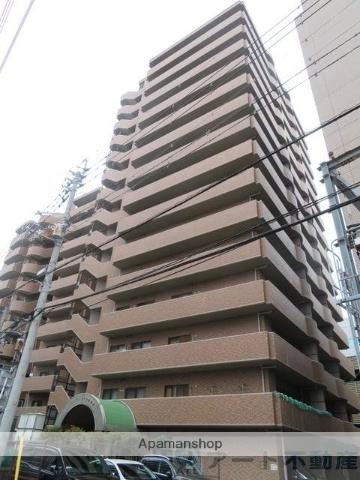 愛媛県松山市、松山駅徒歩5分の築21年 15階建の賃貸マンション