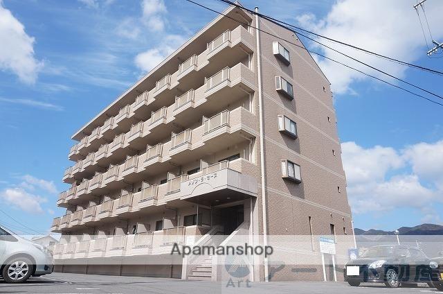 愛媛県東温市、横河原駅徒歩14分の築15年 5階建の賃貸マンション