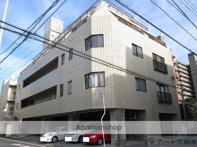 愛媛県松山市、平和通1丁目駅徒歩2分の築25年 5階建の賃貸マンション