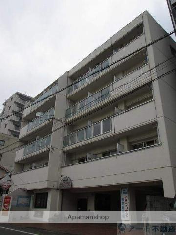 愛媛県松山市、清水町駅徒歩6分の築36年 5階建の賃貸マンション