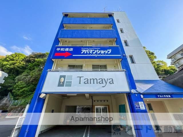 愛媛県松山市、鉄砲町駅徒歩5分の築34年 5階建の賃貸マンション