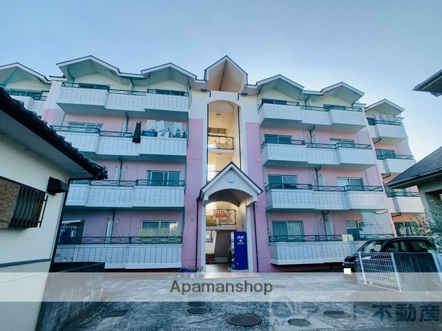 愛媛県東温市の築32年 4階建の賃貸マンション
