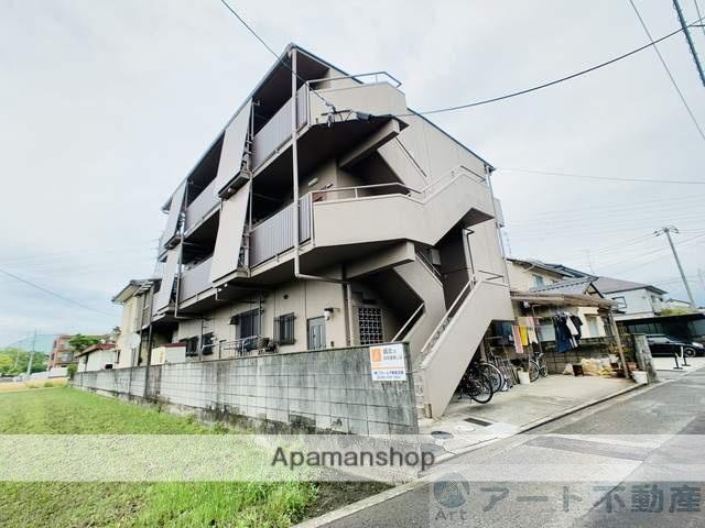 愛媛県松山市、伊予北条駅徒歩12分の築32年 3階建の賃貸マンション