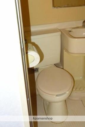 愛媛県松山市中村3丁目[1K/18.18m2]のトイレ