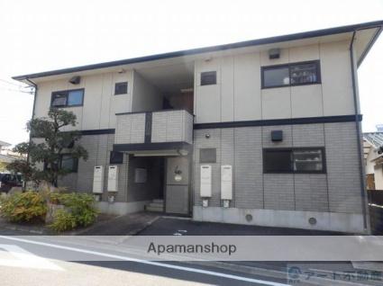 愛媛県東温市、牛渕駅徒歩13分の築19年 2階建の賃貸アパート