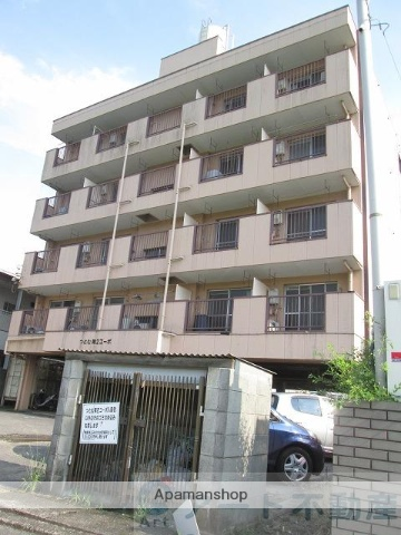 愛媛県東温市、愛大医学部南口駅徒歩16分の築38年 5階建の賃貸アパート