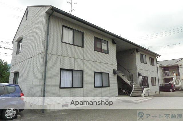 愛媛県東温市、見奈良駅徒歩18分の築22年 2階建の賃貸アパート