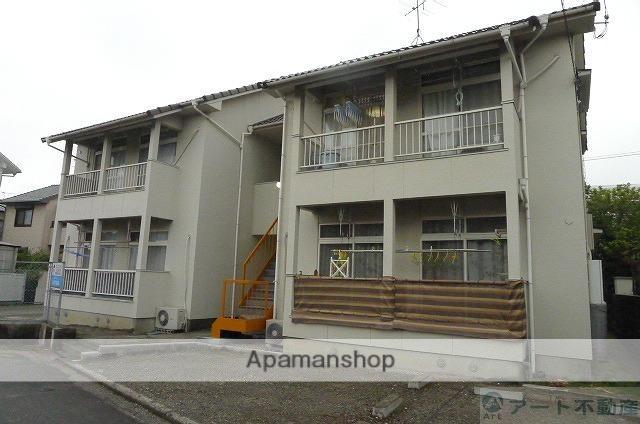 愛媛県東温市、牛渕駅徒歩8分の築28年 2階建の賃貸アパート