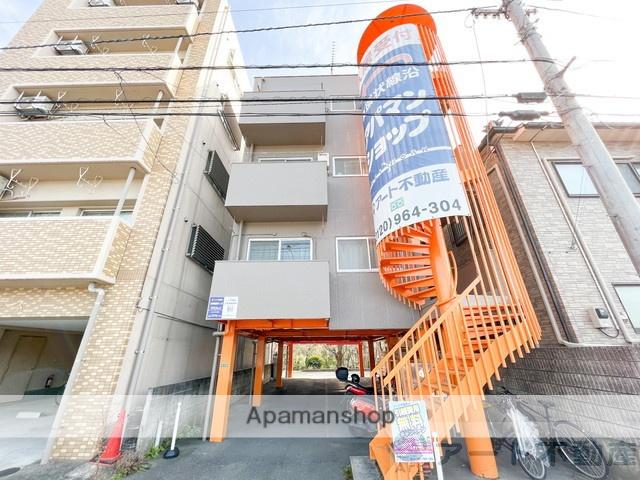 愛媛県松山市、勝山町駅徒歩16分の築35年 4階建の賃貸マンション