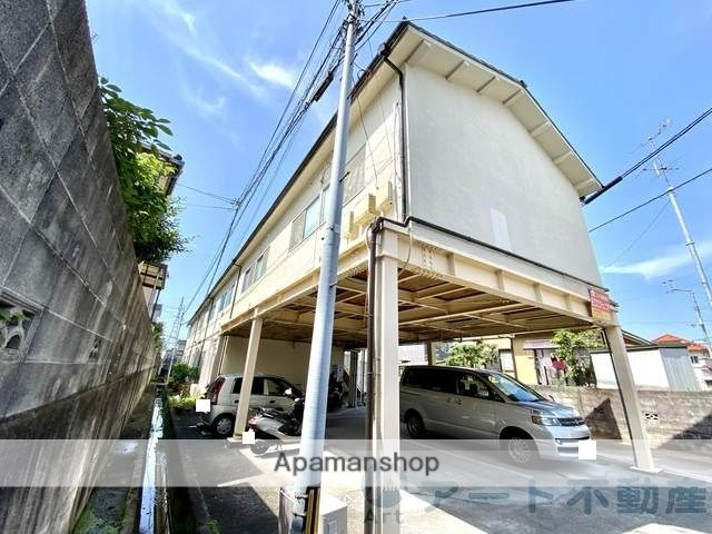 愛媛県松山市、福音寺駅徒歩14分の築40年 2階建の賃貸アパート