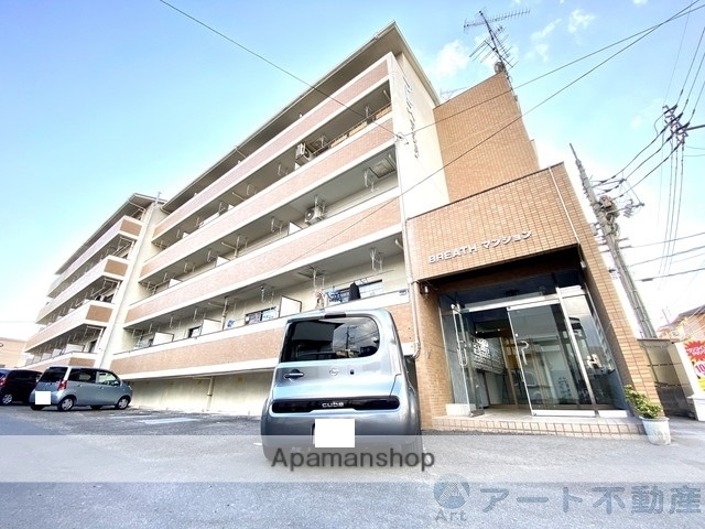 愛媛県松山市、勝山町駅徒歩20分の築21年 4階建の賃貸マンション