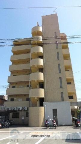 愛媛県東温市、愛大医学部南口駅徒歩13分の築23年 7階建の賃貸マンション