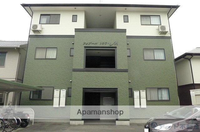 愛媛県東温市、梅本駅徒歩9分の築19年 3階建の賃貸アパート
