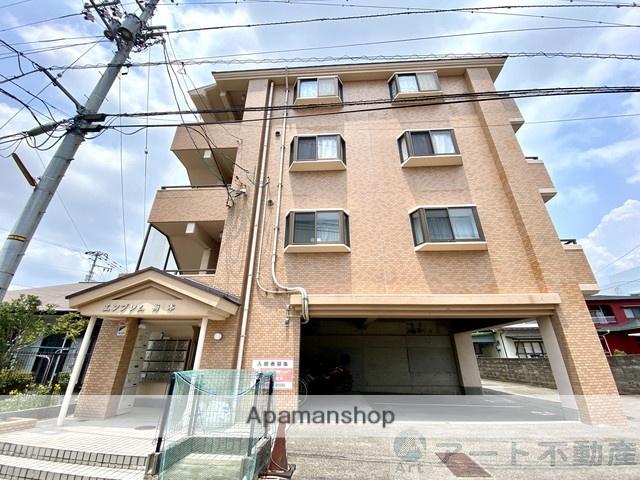 愛媛県松山市、平井駅徒歩12分の築26年 4階建の賃貸マンション