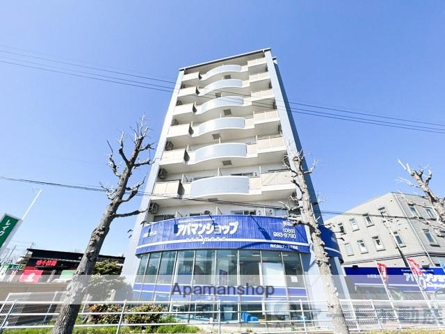 愛媛県東温市、梅本駅徒歩16分の築9年 8階建の賃貸マンション