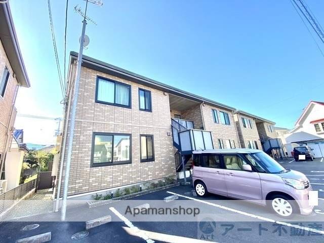 愛媛県東温市、牛渕駅徒歩11分の築11年 2階建の賃貸アパート