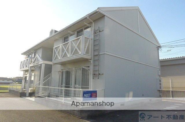 愛媛県東温市の築25年 2階建の賃貸アパート