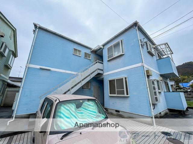 愛媛県松山市、北久米駅徒歩14分の築20年 2階建の賃貸アパート