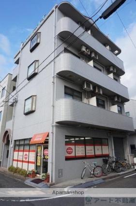 愛媛県松山市、古町駅徒歩3分の築26年 4階建の賃貸マンション