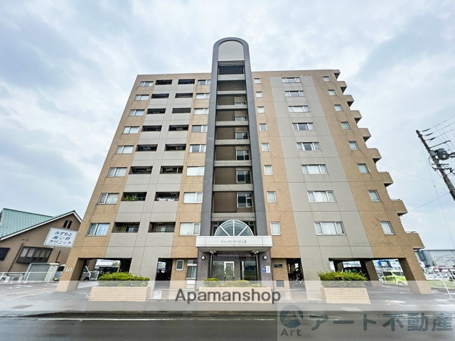 愛媛県松山市、久米駅徒歩36分の築20年 9階建の賃貸マンション