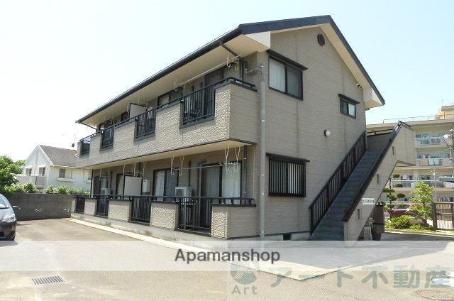 愛媛県東温市、見奈良駅徒歩14分の築15年 2階建の賃貸アパート