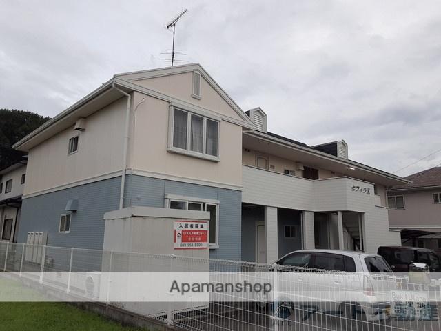 愛媛県東温市、梅本駅徒歩10分の築23年 2階建の賃貸アパート