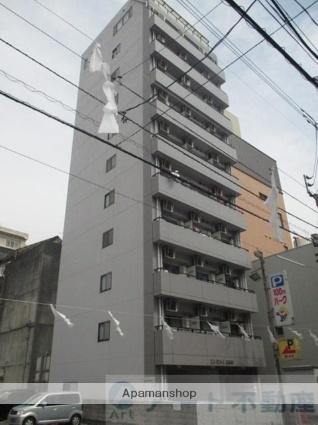 愛媛県松山市、大街道駅徒歩12分の築18年 11階建の賃貸マンション