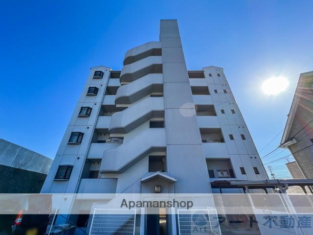 愛媛県松山市、北久米駅徒歩7分の築27年 6階建の賃貸マンション