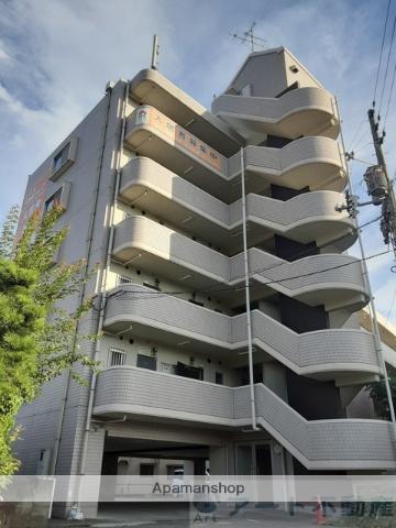 愛媛県東温市、横河原駅徒歩12分の築21年 6階建の賃貸マンション