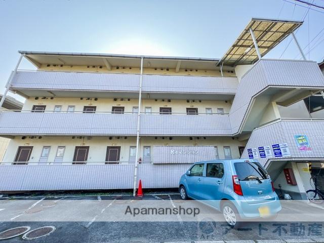 愛媛県松山市、福音寺駅徒歩9分の築28年 3階建の賃貸マンション