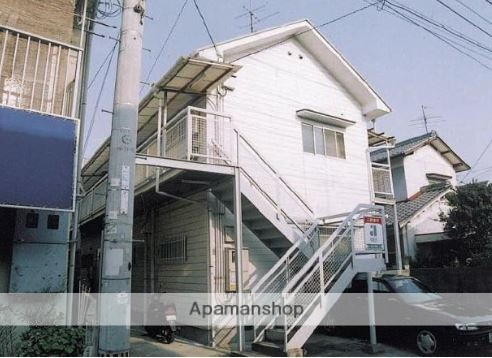 愛媛県松山市、石手川公園駅徒歩12分の築25年 2階建の賃貸アパート