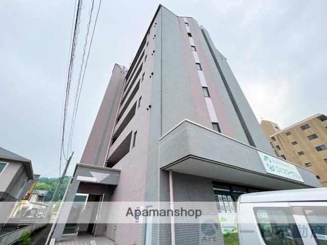 愛媛県東温市、愛大医学部南口駅徒歩14分の築14年 7階建の賃貸マンション