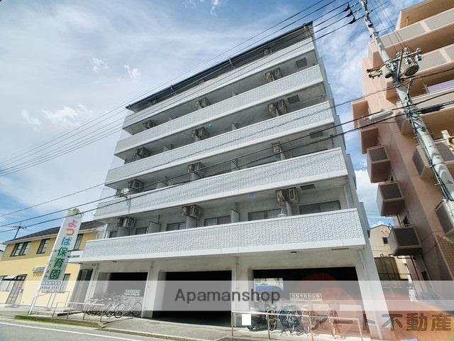 愛媛県東温市、愛大医学部南口駅徒歩14分の築21年 6階建の賃貸マンション