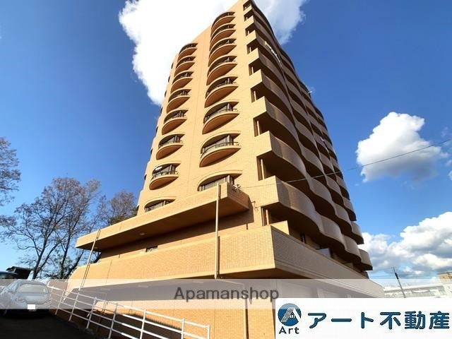 愛媛県松山市、松山市駅徒歩16分の築19年 10階建の賃貸マンション
