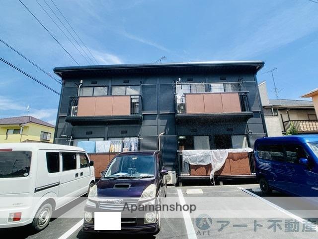 愛媛県東温市、牛渕駅徒歩10分の築23年 2階建の賃貸アパート