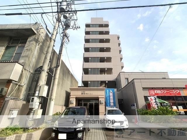 愛媛県伊予市、伊予市駅徒歩6分の築18年 8階建の賃貸マンション