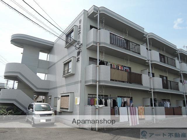 愛媛県伊予市、鳥ノ木駅徒歩11分の築24年 3階建の賃貸マンション