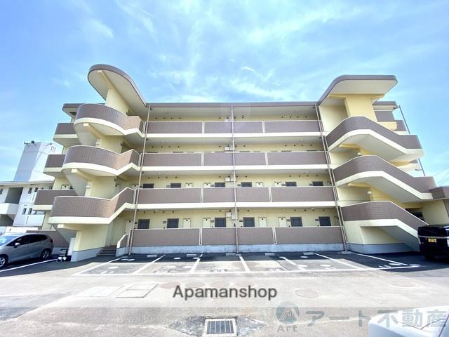愛媛県東温市、見奈良駅徒歩32分の築17年 4階建の賃貸マンション